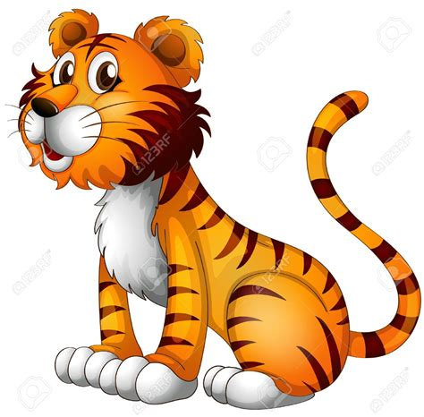 clipart tiger tiger clipart vector pencil and in color tiger clipart