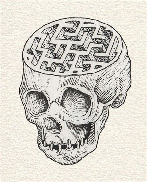 tattoo pen on head 11 best brain and maze images on pinterest labyrinths