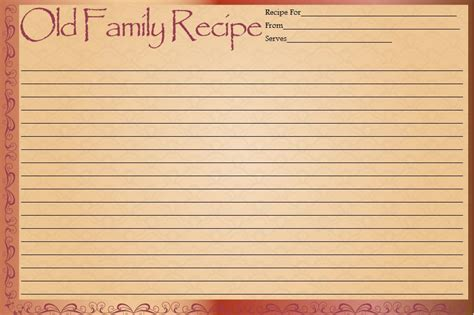 gypsy grandmas goodies ladybug recipe cards