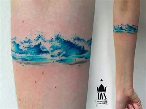 watercolor tattoo wave the world s catalog of ideas