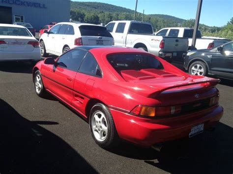 1991 Toyota Mr2 For Sale Purchase Used 1991 Toyota Mr2 Original Turbo Coupe 2 Door