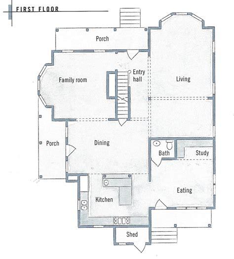 Folk Victorian Farmhouse Floor Plans For The Home Folk House Plans