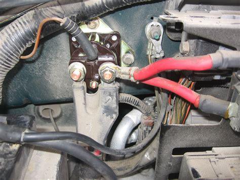 diagrams 880710 ford starter solenoid wiring diagram
