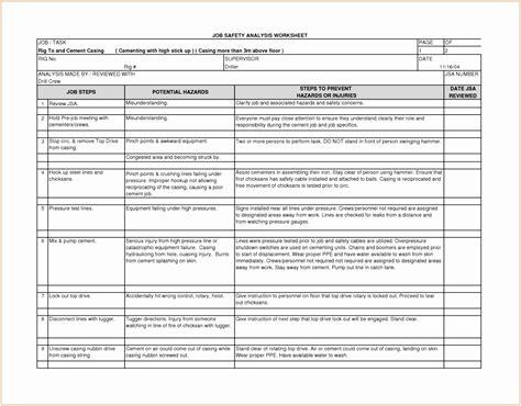10 Construction Site Risk Assessment Template Bwypp Templatesz234 Hazard Analysis Form Template Construction