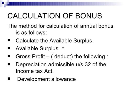 Bonus Mba by Bonus Act 1965 1