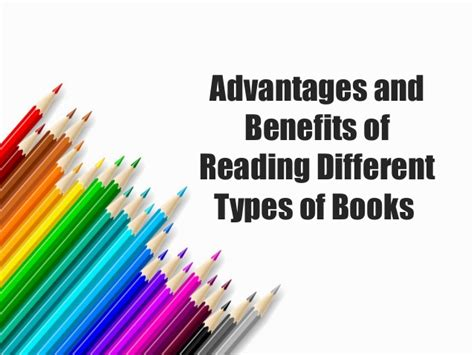 types of picture books advantages and benefits of reading different types of books