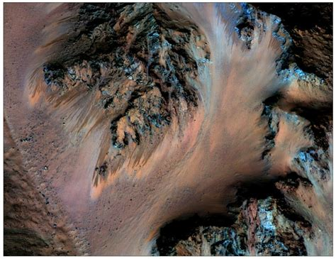 NASA Scientists Confirm The Presence Of Flowing Water On Mars