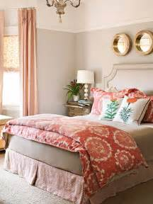 Coral And Grey Bedroom » New Home Design