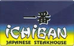 Ichiban Gift Card - sell ichiban hibachi steakhouse gift cards raise