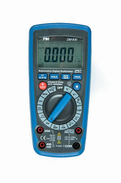 Automotive Multimeter dm 930 automotive digital multimeter