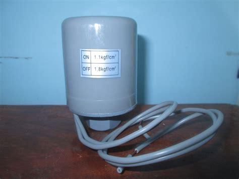 Saklar Otomatis Pompa Air Sanyo pressure switch pompa air shimizu ps 130 bit toko cita media