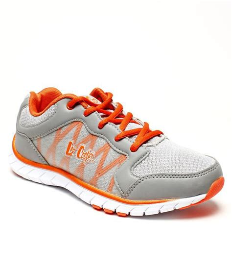 leecooper sports shoes cooper sports active grey shoes price in india buy