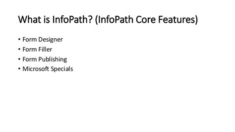 infopath alternatives and the powerapps potential