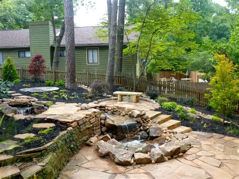 Houzz Backyards by Backyard Makeover Traditional Landscape Atlanta By