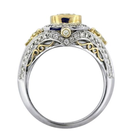 Wedding Rings Big by Big Wedding Ring Gold Diamondstud