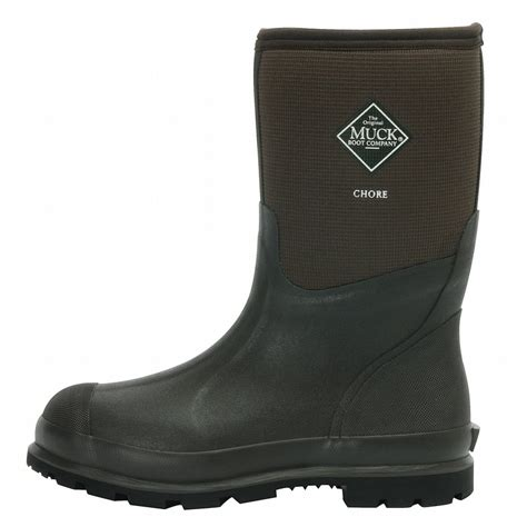 muck boots muck boots chore cool 12 inch mid work boots cmct900