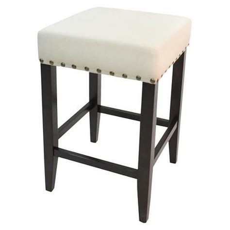 Upholstered Counter Stools Harrison Upholstered Nail Counter Stool