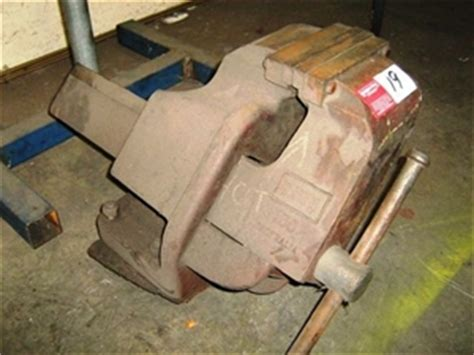 dawn 150mm offset engineers bench vice auction 0019