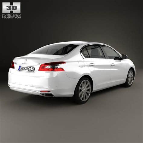 peugeot 2014 models peugeot 408 cn 2014 3d model hum3d