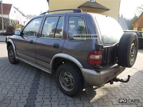2001 Kia Mpg 2001 Kia Sportage 4wd 16v Classic Car Photo And Specs