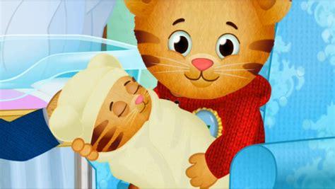 daniel has an allergy daniel tiger s neighborhood books daniel tiger s neighborhood quot meet the new baby quot recap