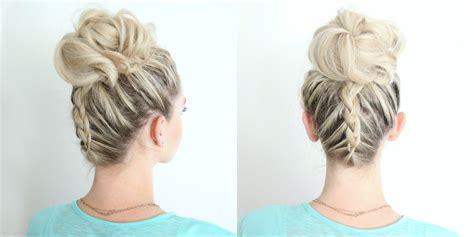 cute girl hairstyles dutch braid dutch braid twist bun combo cute girls hairstyles