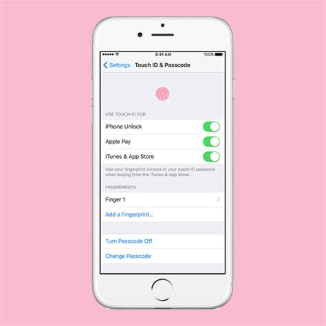 how to set up touch id on your iphone