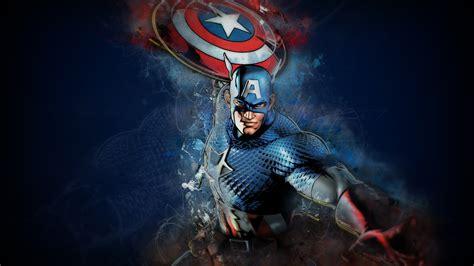 wallpaper captain america marvel comics  art