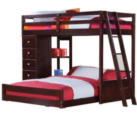 manhattan twin over full loft bed with chest bedroom furniture beds donco trading