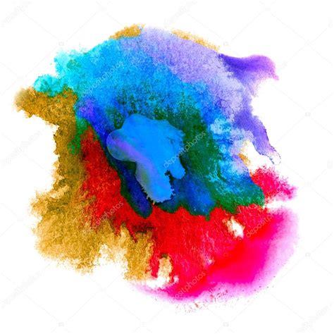 the color spot color spot purple macro blotch texture isolated white