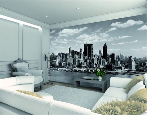 manhattan wall mural 1wall manhattan skyline wall mural