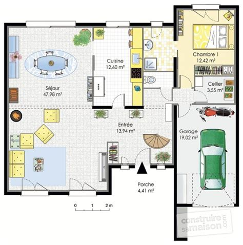 Plan Maison Moderne Contemporaine by Grande Maison Contemporaine D 233 Du Plan De Grande