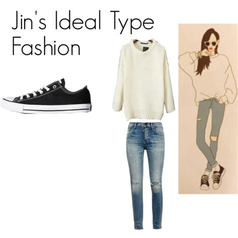 bts ideal type jin s ideal type outfit by kaisper on polyvore featuring