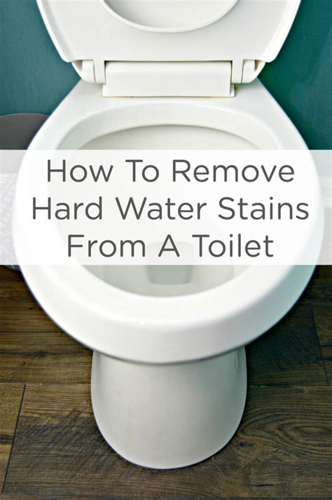 How To Remove Buildup From Shower by How To Remove Water Stains From A Toilet 4 Real