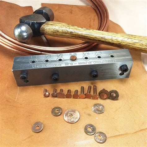 copper wire tools turn ordinary copper wire into made copper rivets create a wide variety of shapes and