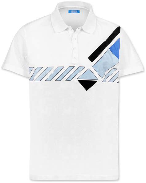 T Shirt Tennis adidas vintage tennis polo t shirt white