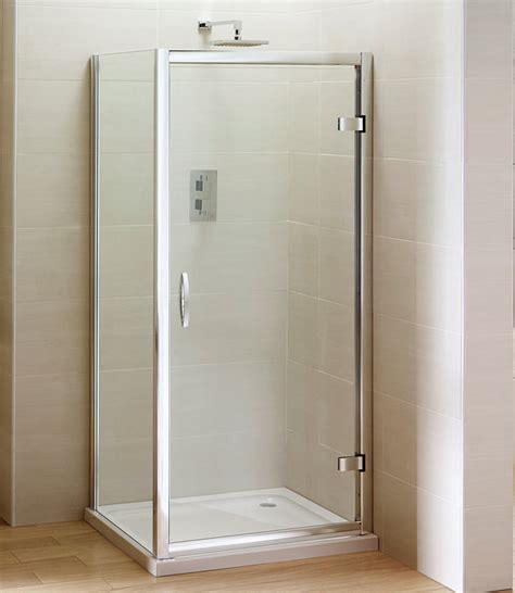 Shower Door 900mm April Identiti2 Hinge Shower Door Semi Frame Less 900mm