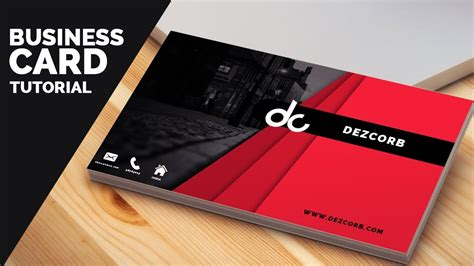 business card template cs6 business card design in photoshop cs6 tutorial learn