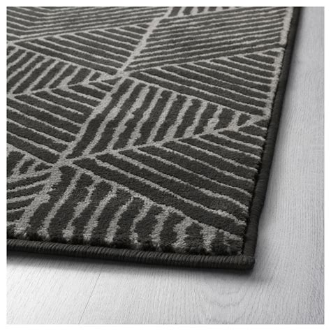 large low pile rug stenlille rug low pile grey 170x240 cm ikea