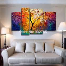 aliexpress buy 3 set bright tree painting