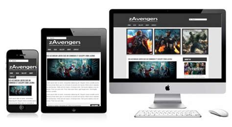 free simple responsive html5 template zavengers free responsive html5 theme zerotheme