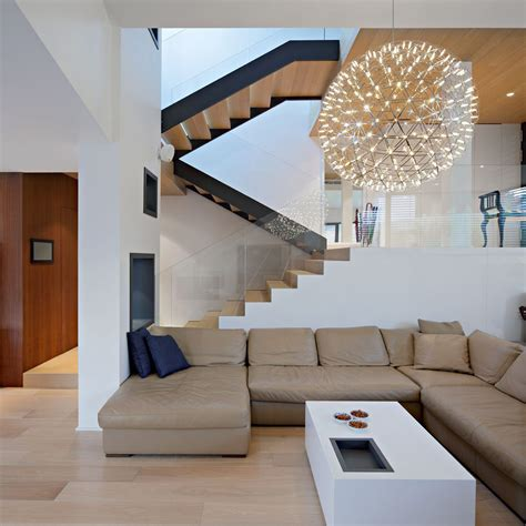 interior design zagreb sofa lighting stairs a a house in zagreb croatia by