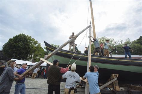 public boat launch gloucester ma an old fashioned ship launch local news
