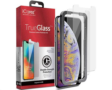 iphone xs max tempered glass screen protectors