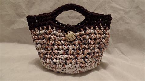 bag pattern youtube crochet how to crochet t shirt yarn crochet purse