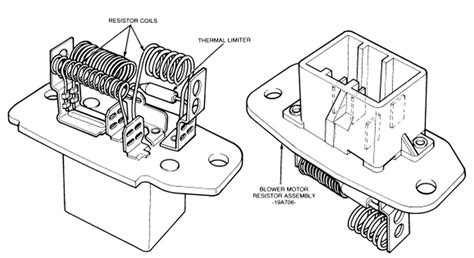 2000 ford ranger blower motor resistor location 95 ford explorer blower motor resistor location get free image about wiring diagram
