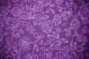 purple fabric with floral pattern texture picture free