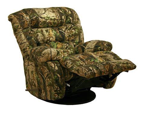 camo recliner chair catnapper cloud nine camo rocker recliner