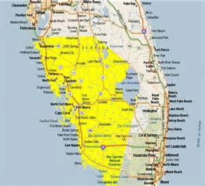 map of southwest florida coast map of southwest florida cities area is from