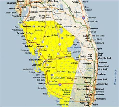 map of southwest florida map of southwest florida cities area is from southwest tip of florida everglades city to